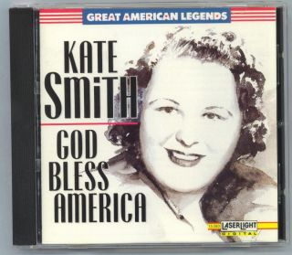 Kate Smith God Bless America Mint Deluxe CD 16 Songs 018111538022