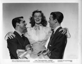 The Philadelphia Story 1947 Katharine Hepburn Cary Grant James Stewart