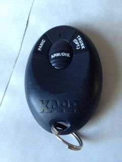 Karr Alarm Keyless Entry Remote Control ELVAT5H Tested and Working