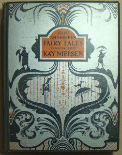 1924.Kay Nielsen Hans Christian Andersen Fairy Tales. Tipped in Art