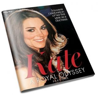 Kate Middleton A Royal Odyssey 32 Page Glossy Mag UK Daily Mail