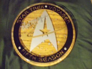 KATE MULGREW Janeway AUTO SIGNED STAR TREK VOYAGER CAST SEASON 5 GIFT