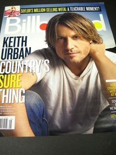 Keith Urban Billboard cvr Promo Ad No Mailing Label
