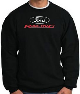 Ford Racing Classic Car Adult Pullover Sweatshirt