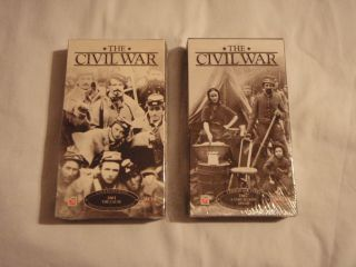 The Civil War Ken Burns Time Life Video 9 VHS Tapes New SEALED