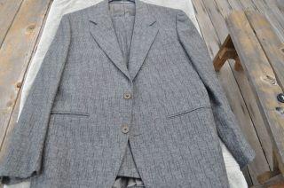Versace 40R Sexy Grey Gray 40 R Mens Suit Save $$$ Buy Luxury Class