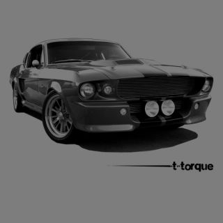 Ford Mustang Shelby GT500 Car T Shirt Automotive Tee