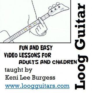 CD video lesson 3 string cigar box home schooling children keni lee