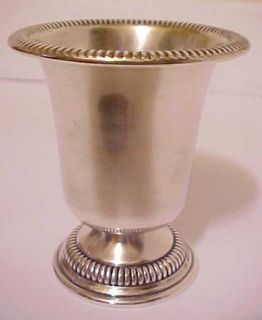 Antique Kenilworth Solid Sterling Silver Toothpick Holder Late 19th