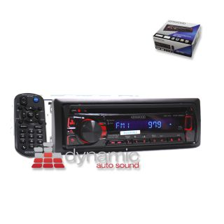 Kenwood KDC 252U in Dash Car CD  WMA Stereo Receiver w Front USB