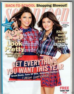 MAGAZINE SEPTEMBER 2012 KENDALL KYLIE JENNER LIAM HEMSWORTH INSTAGRAM
