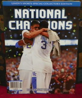 Kentucky Wildcats National Champions Special Collectors Magazine