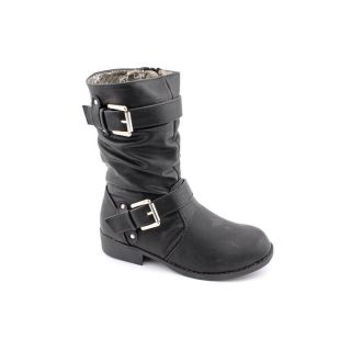 Kensie Girl KG311 Youth Kids Girls Size 12 Black Fashion   Mid Calf