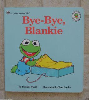 Bye Bye Blankie Boardbook Kermit The Frog Toddler Child Kids Favorite