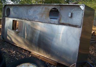 Commercial Kitchen Exhaust Hood Stainless Steel NSF Kesler 12 ft Long