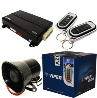 5202V 2 Way Security and Remote Start System and Keyless Entry