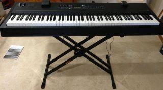 YAMAHA KX8 USB MIDI Keyboard 88 keys power supply foot pedal manual