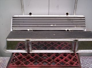 Keystone Valve Covers Smallblock Chevrolet Gasser Hot Rat Rod Car