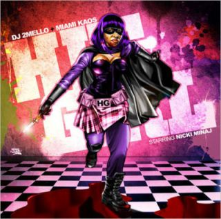 Nicki Minaj Hit Girl Kickass Official Mixtape CD