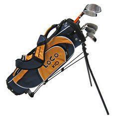 Golf Clubs Dunlop Loco Kid Golf Set with Bag Stand