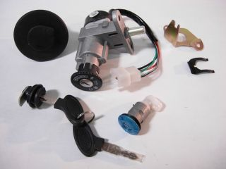 Ignition Switch with Keys for Chinese Scooters 4 Jonway Wasp Fi Hornet