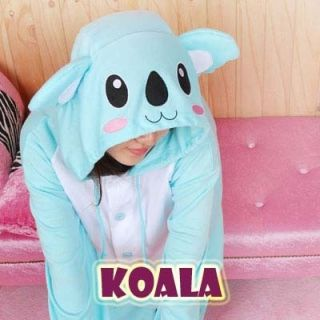 KIGURUMI Q SweetHolic Animal Pajamas Adult Kid ★koala★