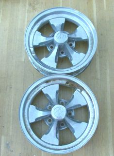 15x4 Keystone Klassic Wheels, (2), Chevy, Olds, Buick, GM, Rat Rod