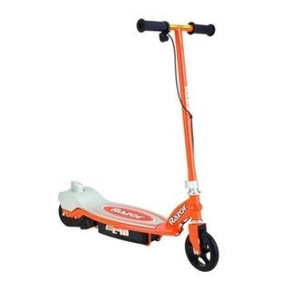 12V Electric Outdoor Kids Boys Girls Teens Scooter Orange
