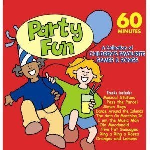 Childrens Party Games Songs Birthday Christmas Pass The Parcel Simon