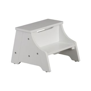 Solutions by Kids R US Step Stool White ZMC