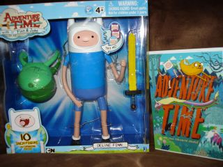 CHILDREN KID ADVENTURE TIME FINN AND & JAKE DVD TOY DOLL FIGURE LOT