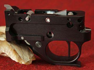 KIDD Two stage trigger 1022 for Ruger 10 22 Black black straight black