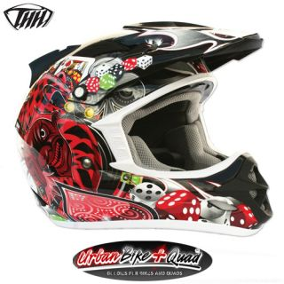 Youth Kids Child Childrens Joker THH Helmets Helmet Motocross Bike MOT