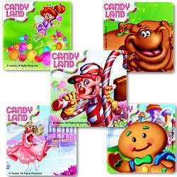 15 CANDYLAND Game Stickers Kid Boy Girl Birthday Party Goody Bag