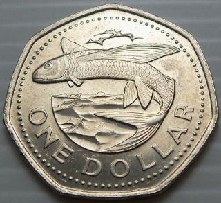 Barbados 2007 1 Dollar KM14 2 High Grade