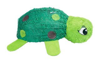 Turtle Pinata Kids Themed Birthday Party Games Supplies