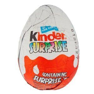 Kinder Surprise Eggs Chocolae 36 per Box Kids Paries Easer