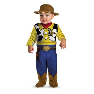 Infant Kids 12 Disney Toy Story Woody Classic Costume