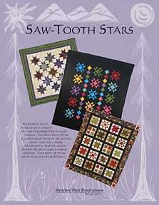 NEW SAWTOOTH STARS STAR STRUCK STRIPPY STARS 3 PATTERNS FOR PRICE OF
