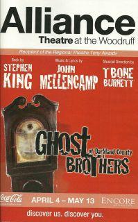 STEPHEN KING John Mellencamp Ghost Brothers of Darkland County Book