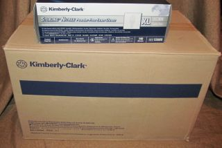 Kimberly Clark Sterling Nitrile Powder Latex Free Exam Gloves XL CASE