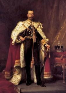 RARE Print Portrait King George V of United Kingdom