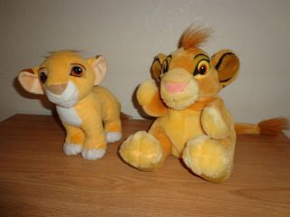 Disney Lion King Simba Hand Puppet and Simba Kissing Plush Toy