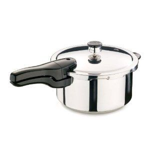 Quart Kitchen Cooking Stainless Steel Pressure Cooker Indicator NEW