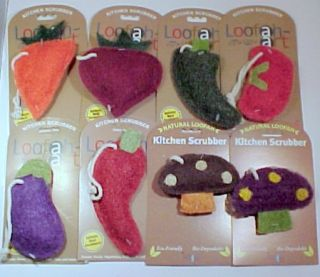 Loofah Art® Kitchen Scrubber Vegetable Eco Friendly