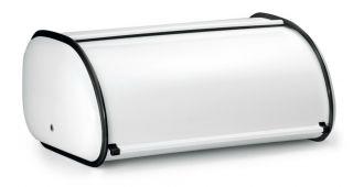 Polder Premium Steel Kitchen Bread Box Bin Storage Extra Large Size