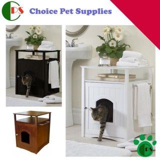 Cat Litter Box Washroom Night Stand Choice Pet Supplies Kitten Kitty