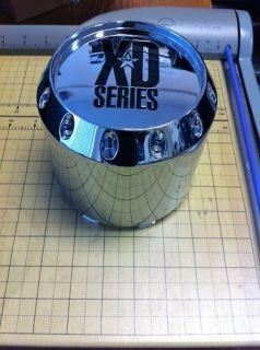 KMC XD Series Chrome Wheel Rim Center Cap Prt 464K131