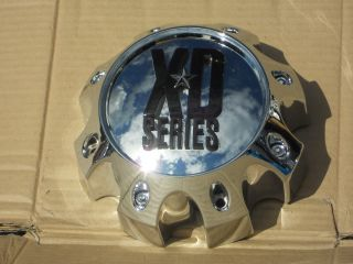 KMC XD Series Alloy Wheel 1 Chrome Center Cap 1079L170 6 5 8