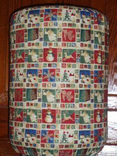 MAILBOX BIRD CHRISTMAS 5 GALLON KITCHEN WATER COOLER BOTTLE COVER